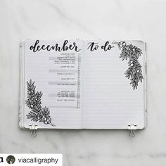 #Repost @viacalligraphy with @repostapp ・・・ Can you believe it's almost December? Here's my last monthly spread for the year —looks like it's already completely packed with events! Want to get your own bullet journal started in the new year? Scroll back a couple of posts and enter for a chance to win all of my favorite bullet journal supplies. --------------------------------------- Use #bujoinspire para compartilhar seu BuJo conosco, caso sua conta seja privada envie por Direct. #bul...