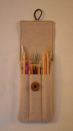 Interchangeable Knitting Needle Case Sewing Pattern : Interchangeable Knitting Needle Case Pattern Knitting Pinterest Interch...