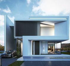 Modern design by @farhang.architect . #saudiarabia #3dmaxvray #Archiviz www.amazingarchitecture.com ✔️…