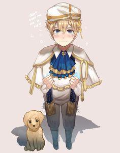 """Luke is cute! Me Anime, Cute Anime Guys, Kawaii Anime, Manga Art, Anime Art, 7 Sins, Shall We Date, Pokemon Cosplay, Comic Games"