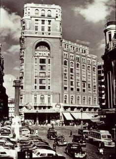 Antigua foto Cine Palacio de la Prensa MADRID