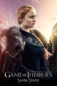 Sansa Stark - Game Of Thrones Sansa Stark - Game Of Thrones Arte Game Of Thrones, Game Of Thrones Sansa, Game Of Thrones Facts, Game Of Thrones Costumes, Game Of Thrones Funny, Game Of Thrones Houses, Game Of Thrones Posters, Game Of Thrones Characters, Winter Is Here