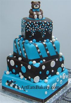 amazing baby shower cakes images | ... recent custom fondant cakes pictures and artistic fondant cake designs