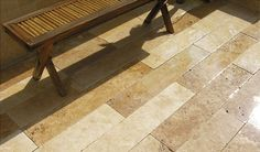 Travertine Linear Paving