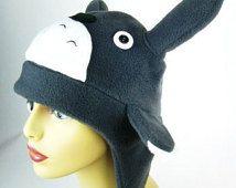 Gorro Totoro - mi vecino Totoro inspirada película japonesa - Manga Cosplay  accesorios - sombreros de traje de Halloween bf3c3b18b4f