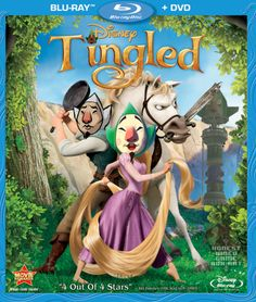 Tangled (Blu-ray + DVD Combo) on Blu-ray from Disney / Buena Vista. Directed by Nathan Greno and Byron Howard. Tompkins, Zachary Levi, Brad Garrett and Mandy Moore. More Comedy, Fantasy and Romance DVDs available @ DVD Empire. Disney Cinema, Dvd Disney, Walt Disney, Disney Films, Disney Characters, Disney Posters, Disney Eras, Pixar Movies, Disney Cruise