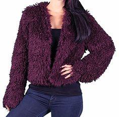 DuMonde Ladies 'Chubby' Faux Fur Jacket