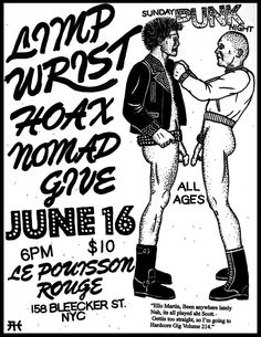 Alex Heirs New Book Of Punk Flyers and Illustrated Art