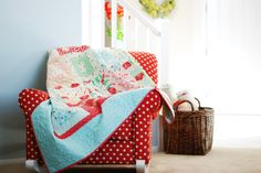have you seen camille's polka dot chair?