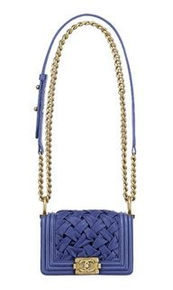 Cornflower blue Chanel.