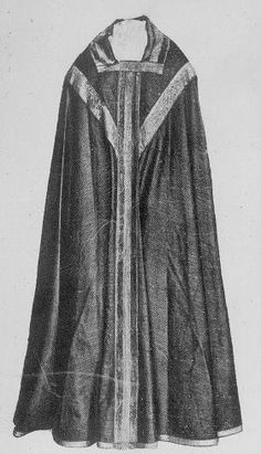 Chasuble of Thomas Becket, ca 1170, Notre Dame Cathedral