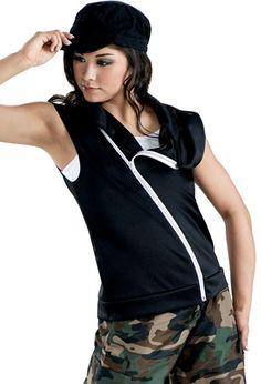 Sleeveless Zip-Front Vest   Balera™