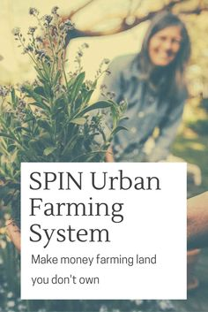 Small Plot INtensive urban farming system