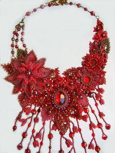 Beautiful beaded jewelry by Marina Samotolkova