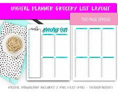 Digital Planner Pages - Grocery List Template Layout (Shopping List) List Template, Templates, Retail Facade, Nursing Research, Shop Icon, Shop Front Design, Coffee Design, Grocery Lists, Shop Plans