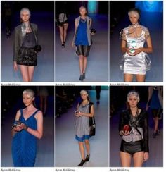 Byron McGilvray's work at Rosemount Australian Fashion Week