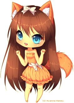 Custom adopt commission for angelykat1 Awn awn neko/dog girls are always very cute *u* I love kemonomimi *---*I hope you like it! - - - Made in Paint Tool Sai Art (c) Hyanna-Natsu Character (c)&nbs...