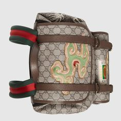 Gucci Gucci Courrier soft GG Supreme backpack Detail 6 Supreme Backpack 7827a8789ca