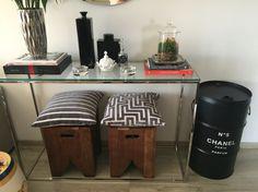Chanel #chanel  #drum #oildrum #industrialdesign #barril #rebecaguerra #lata #decoração