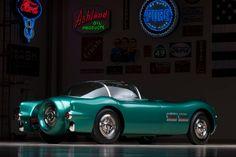 1954 Pontiac Bonneville Special Motorama Concept Car 1024×683 пикс