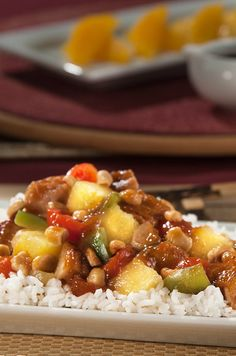 Quick and savory sweet and sour chicken