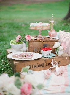 Pretty Dessert Display