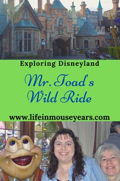 Have you been on Mr. Toad's Wild Ride in Disneyland? This attraction is one of the opening day attractions that still exists today! Find out what this attraction is, fun facts about this ride, and what photo op is inside in today's post-Exploring Mr. Toad's Wild Ride in Disneyland. www.lifeinmouseyears.com #lifeinmouseyears #disneyland #mrtoadswildride #fantasyland #disney Mr Toad, Disneyland Resort, Exploring, Attraction, Fun Facts, Life, Explore, Research, Funny Facts