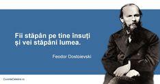 Citat Feodor Dostoievski Latin Quotes, Wise Words, Philosophy, Health Fitness, Spirit, Inspirational Quotes, Queen, Cabinet, Memes