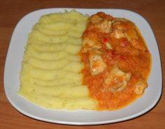 Piletina u sataraš sosu Bosnian Recipes, Croatian Recipes, Bosnian Food, Chicken Recepies, Main Meals, Macaroni And Cheese, Cooking Recipes, Favorite Recipes, Lunch