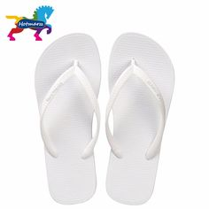 67bd05f735aa7d Hotmarzz Women Summer Beach Sandals Slim Flip Flops White Rubber Slippers  Designer Brand Shoes Slides House