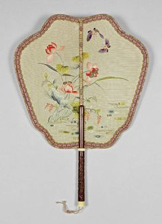 China Century - The Fitzwilliam Museum : Gallery Antique Fans, Vintage Fans, Chinese Fans, Chinese Style, Painted Fan, Hand Painted, The Han Dynasty, Zhou Dynasty, Hand Held Fan