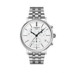 Ρολόι TISSOT T122.417.11.011.00 CARSON PREMIUM | ΤΣΑΛΔΑΡΗΣ®