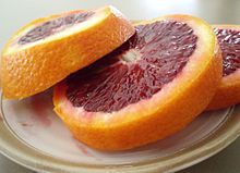Full of antioxidants & 28% of your daily fibre - the blood orange is my new favorite snack!