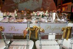 10 Ideias para Decorar as Cadeiras no Casamento