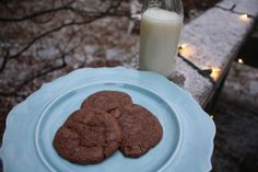 Double Chocolate Mint Cookies | 41 Epic Comfort Foods To Give You Some Extra Padding This Winter