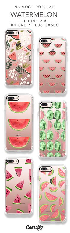 15 Most Popular Sweet Watermelon iPhone 7 Cases & iPhone 7 Plus Cases here > https://www.casetify.com/artworks/EsPBdqKH9f