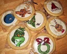 Grinch cookies.