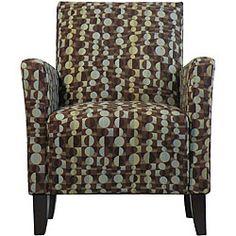Superbe Gia Urban Arm Chair Orbit Brown Blue $330