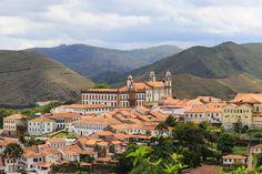 Ouro Preto é a mais importante cidade da Estrada Real.