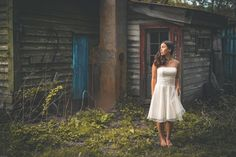 "Erland Grøtberg on Instagram: ""Konrads House. Photoshoot at @snefridshus with @karenvaje #portraitphotography #weddingdress #wedding #vintage #patina #abandonedplaces…"""