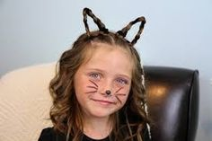 quirky halloween hair ideas for girls - Google Search
