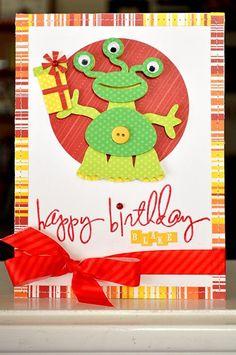 17 Ideas Birthday Card For Boys Cricut Cricut Birthday Cards, Birthday Cards For Boys, Cricut Cards, Birthday Love, Handmade Birthday Cards, Happy Birthday Cards, Birthday Kids, Birthday Crafts, Handmade Cards