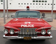 new york city 1960s photos | Vintage NYPD 1960s Plymouth Police Car, New York City | Flickr - Photo ...
