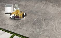 Minoli Tiles - Evolution-Marvel - Need a new idea for a #outside space? Try #Marvel Grey FLeury Lastra, by #Minoli. These freely movable #tiles, are perfect! Floor Tiles: Marvel Grey Fleury Lastra 30 x 60 cm. - https://www.minoli.co.uk/tiles/marvel-grey-fleury/ - #Porcelain #Tiles #Minoli #Marvel #Lastra #Outside #Space