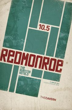 Gig Poster / Red Monroe