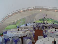 Arch shaped marquee