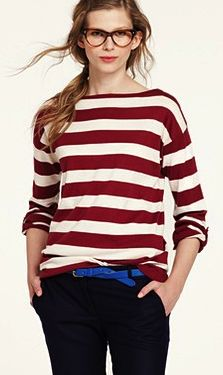 Over-sized, boat-neck sweater? Yes please. This color pallet = MORE PLEASE