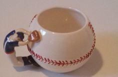 SUPER-SALE-BASEBALL-MUG-Nestle-Carnation-Coffee-Mate-Player-Mug-Cup Mug Tree, Carnations, Mug Cup, Pottery, Baseball, Mugs, Coffee, Ceramica, Kaffee
