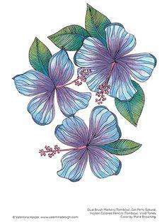 Взрослые Раскраски - Цвет Zen On-The-Go! Книжка-раскраска
