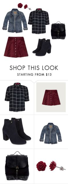 """High Schooler"" by rebellious-ingenue ❤ liked on Polyvore featuring Boohoo, Abercrombie & Fitch, Monsoon, Hollister Co., Steve Mono and Luxiro"